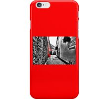 The Red Lane iPhone Case/Skin