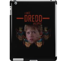 I see DREDD people! iPad Case/Skin