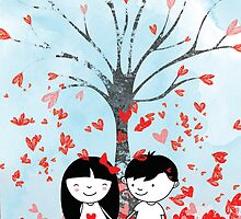 Tree of Love by Holly Hatam
