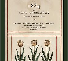 Vintage Greetings-Kate Greenaway Almanack 1884 by Yesteryears
