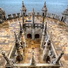 Ramparts Of The Torre de Belem by manateevoyager