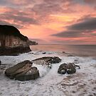Thornwick Bay Sunrise 2 by MartinWilliams