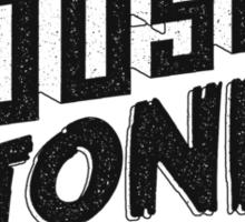 House to Astonish – Black logo Sticker