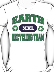 Earth Day Recycling Team T-Shirt