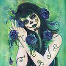 Adelita Day of the Dead by Renee Lavoie