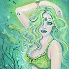 Adella mermaid  by Renee Lavoie