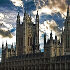 Victoria tower by Luke Lansdale