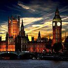 London's burning by Luke Lansdale