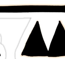 """Depeche Mode 2013. Delta Machine. A'la 80-90 """"bad quality"""" print ;) Sticker"""