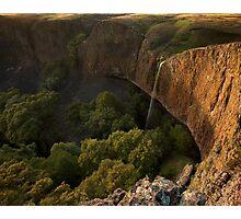 Disappearing Act: Phantom Falls, California Photographic Print