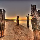 Pier at Clifton Springs by Andrew (ark photograhy art)