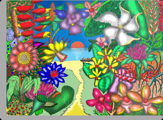 Floradise by David Fraser