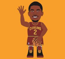 NBAToon of Kyrie Irving, player of Cleveland Cavaliers by D4RK0