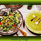 Eat your GREENS take TWO!!! by The Creative Minds