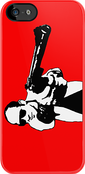 Hunter S Thompson - Gun - Large by Tim Topping