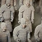 China - Xi&#x27;an - Terracotta Warriors by Derek  Rogers