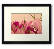 Cosmo Tips  Framed Print