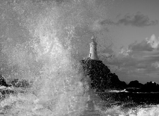 Storm hit Corbiere by Gary Power