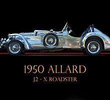1950 Allard XJ  - 2 Roadster w/ID by DaveKoontz