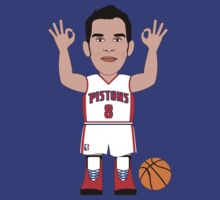 NBAToon of Jose Manuel Calderon, player of Detroit Pistons by D4RK0