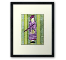 Mysterious Miss Marple Framed Print