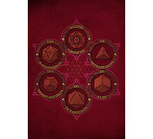 Sacred Geometry Photographic Print