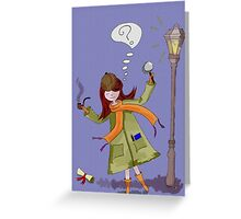 Little Detective Greeting Card