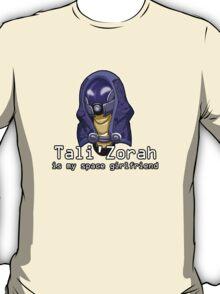 Tali is My Space Girlfriend T-Shirt