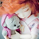 Eve and miss Teddy by Petrushka