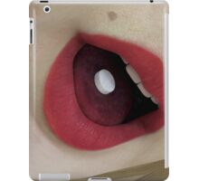 Anjelique Taking Her Medicine Dose iPad Case/Skin