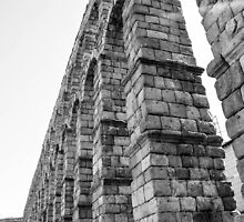 Roman Aqueduct  by Jonathan Evans