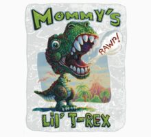 Mommy's Lil' T Rex by MudgeStudios