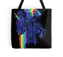how to make a rainbow Tote Bag