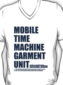 Mobile Time Machine Garment Unit T-Shirt