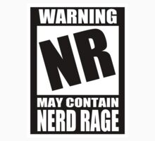 Nerd Rage Warning by sensameleon