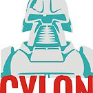 Cylon  by BUB THE ZOMBIE