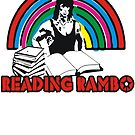 Reading Rambo  by BUB THE ZOMBIE