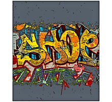 SHOP! Photographic Print