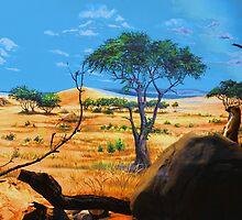 Kalahari Sentinel by Larry Trupp