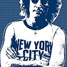 John Lennon -NYC Blue by OTIS PORRITT