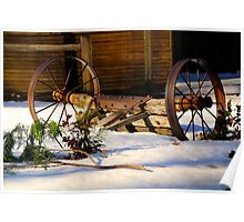 Winter Rustic Poster
