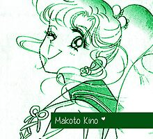 Meet Makoto Kino (Sailor Jupiter) by Sandy W