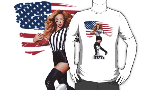SUPERBOWL BEYONCE by silverkid