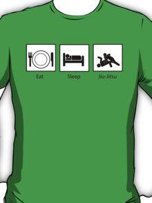Eat, Sleep, Jiu-Jitsu T-Shirt