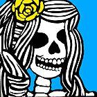Skeleton girl by Trent Shy