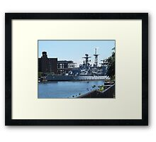 USS Little Rock Framed Print