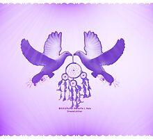 Two Doves by DreamCatcher/ Kyrah Barbette L Hale