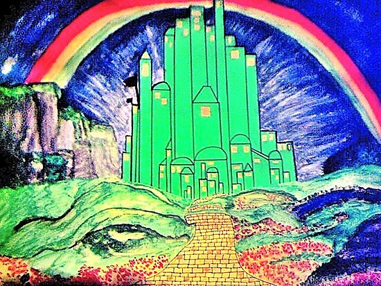 The Emerald City by JoAnnHayden