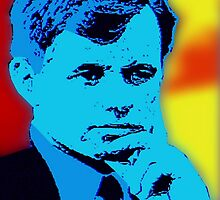 RFK (POP-ART) by OTIS PORRITT