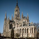 Bayeux Cathedral apse end 198402180032  by Fred Mitchell